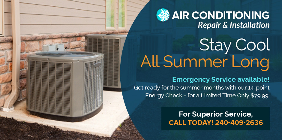 Air conditioning repair in Federick, MD